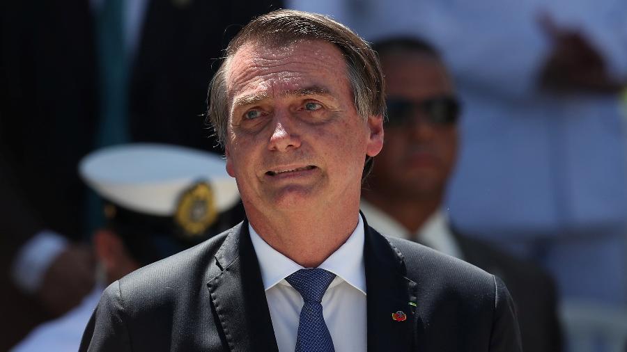 O Presidente da República, Jair Bolsonaro - Reuters