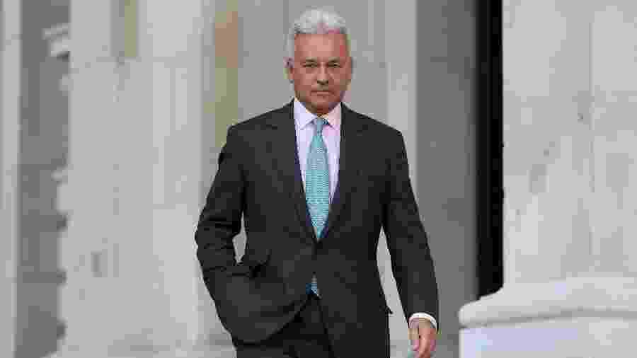 13.set.2018 - Secretário júnior de relações exteriores do Reino Unido Alan Duncan - Daniel Leal-Olivas/AFP