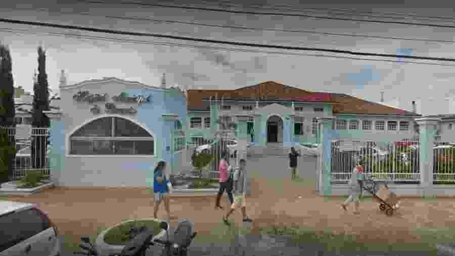 Criança foi levada ao hospital municipal de Paracatu, mas não resistiu - Reprodução/Google Street View