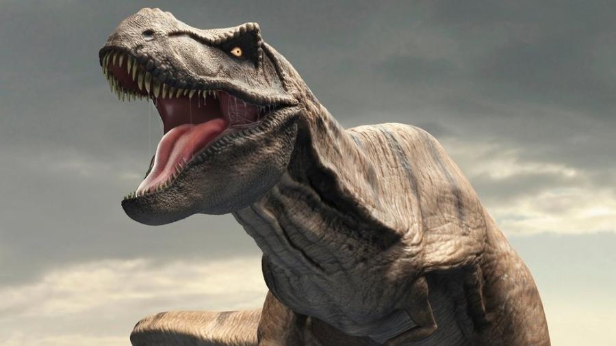 O tiranossauro rex era um temido predador, mas um estudo revelou que ele também era lento - Science Photo Library
