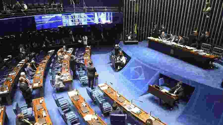 Plenário do Senado Federal durante sessão em 2019 - Marcos Oliveira/Agência Senado