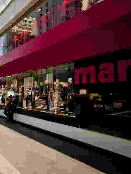 Loja da marca Marisa na avenida Paulista, em São Paulo - Rodrigo Capote/Folhapress