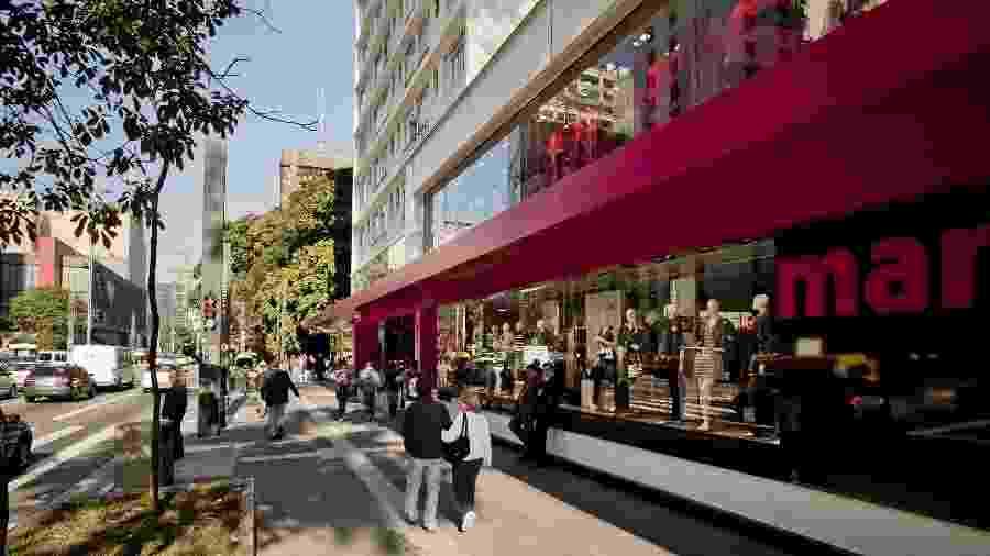 28.jun.2011 - Loja da marca Marisa na avenida Paulista, em São Paulo - Rodrigo Capote/Folhapress