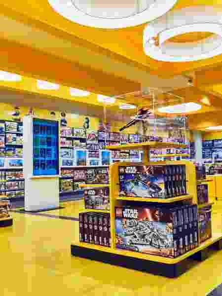 Loja de brinquedos da Lego - Divulgação