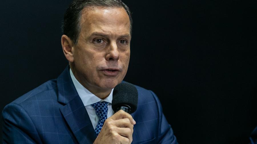 O governador de São Paulo, João Doria (PSDB) - Marivaldo Oliveira/Código19/Estadão Conteúdo