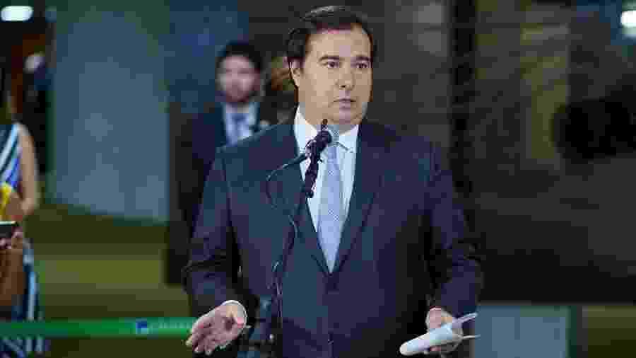 Presidente da Câmara dos Deputados, Rodrigo Maia (DEM-RJ) - Pablo Valadares/Câmara dos Deputados