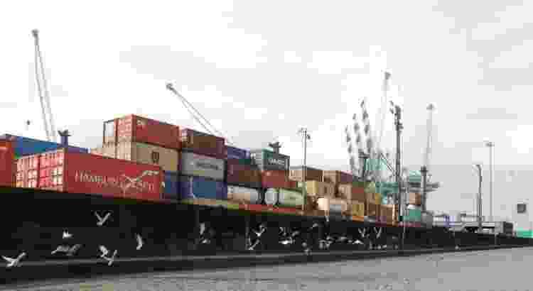 porto de santos - PAULO WHITAKER - PAULO WHITAKER