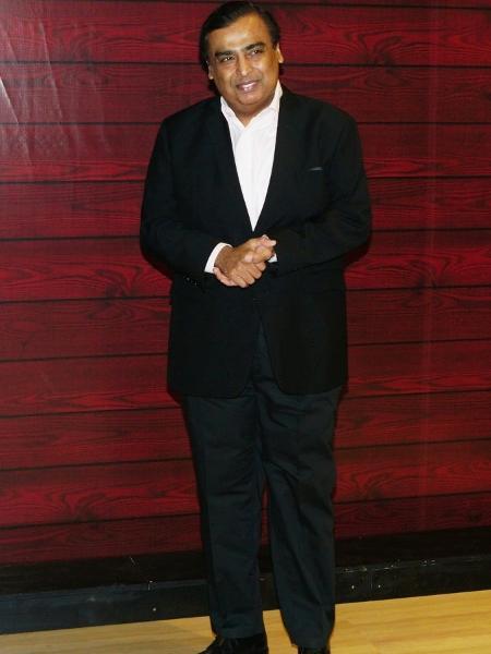 Mukesh Ambani é o nono homem mais rico do mundo - Prodip Guha/Getty Images