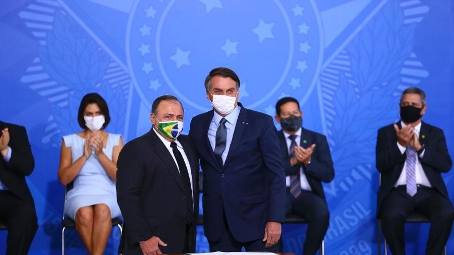 Pazuello contrariou a posição do presidente Jair Bolsonaro, que ontem mostrou irritação com a decisão do STF - Marcelo Camargo/Agência Brasil