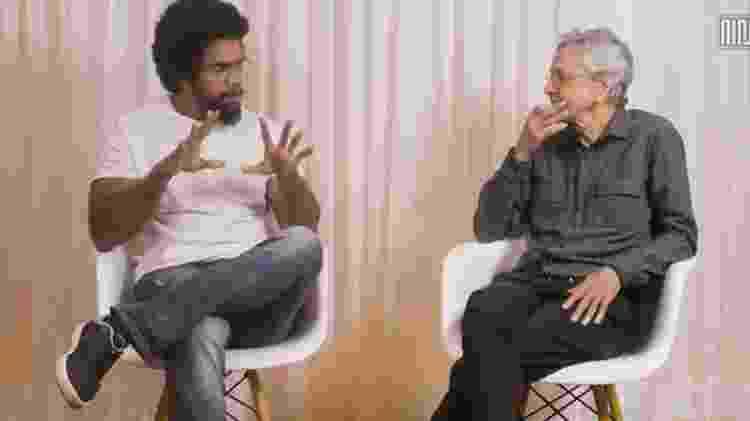 Jones Manoel e Caetano Veloso - Reprodução de vídeo - Reprodução de vídeo