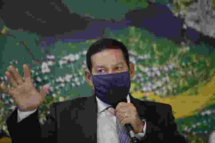 O vice-presidente Hamilton Mourão (PRTB), em foto de arquivo (11/05/2020) - Dida Sampaio/Estadão Conteúdo - Dida Sampaio/Estadão Conteúdo