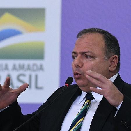 Pazuello discursa sobre Programa Nacional de Imunização - EDU ANDRADE/FATOPRESS/ESTADÃO CONTEÚDO
