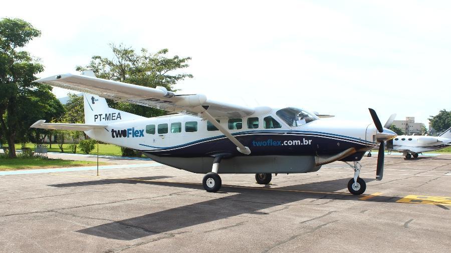Aviação comercial tem utilizado cada vez mais o modelo Caravan em seus voos - Alexandre Saconi/UOL