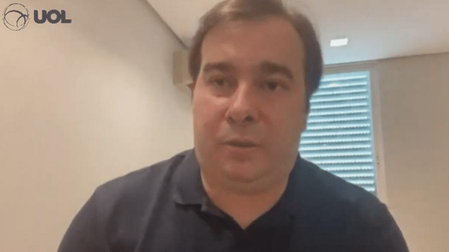 O deputado federal Rodrigo Maia comentou recriação do Ministério do Trabalho - Reprodução
