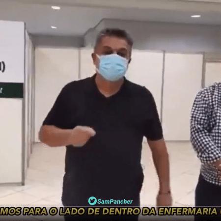 João Rodrigues, prefeito de Chapecó - Reprodução de vídeo