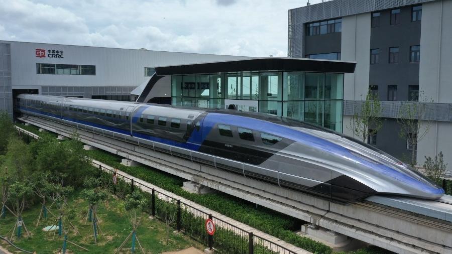 Novo trem-bala chinês chega a 600 km/h - Zhang Jingang/VCG/Getty Images