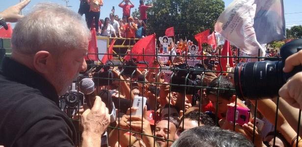 Lula em Juazeiro do Norte (CE) durante campanha no Nordeste