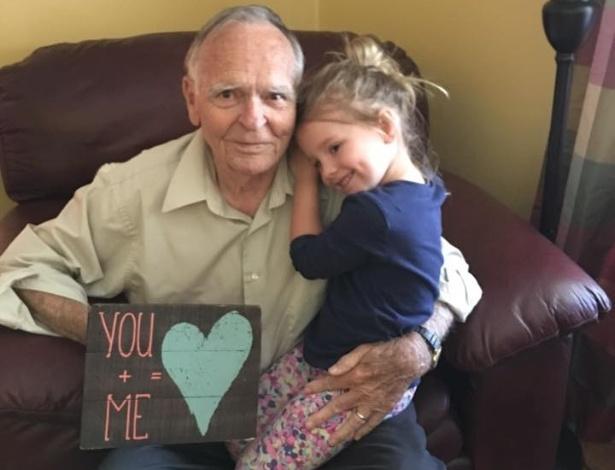 Grandpa and granddaughter - 4 7