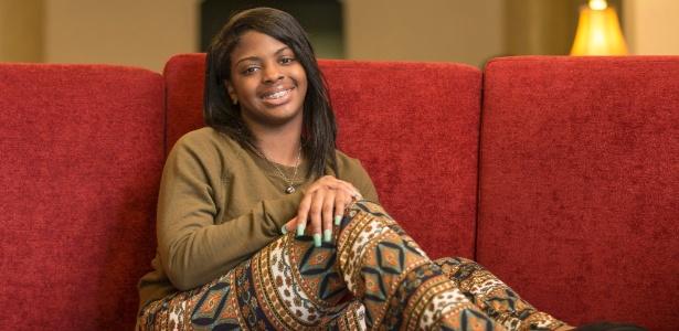 Alexis Manigo, 18, cujo nome verdadeiro é Kamiyah Mobley, foi roubada quando era recém-nascida de um hospital em Jacksonville, na Flórida (EUA)