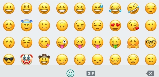 Novos emojis para o WhatsApp incluem gargalhadas e palhaço