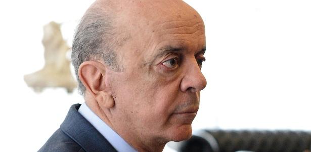 O ministro das Relações Exteriores, José Serra