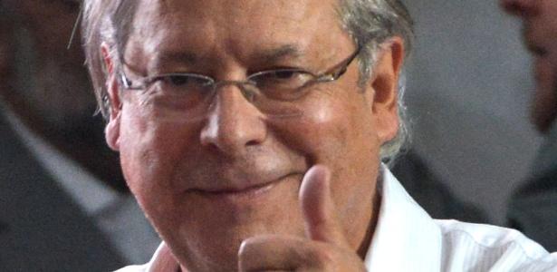 O ex-deputado federal José Dirceu (PT-SP), cuja aposentadoria foi calculada em R$ 9.600