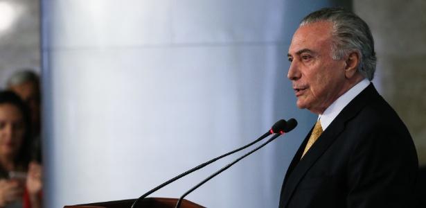 """Em evento, Temer disse que Brasil é país em que """"cada um quer derrubar o outro"""""""