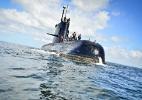 Empresas alemãs teriam pago suborno para fornecer peças de má qualidade ao submarino argentino - Juan Sebastian Lobos/Armada Argentina/Telam/Xinhua