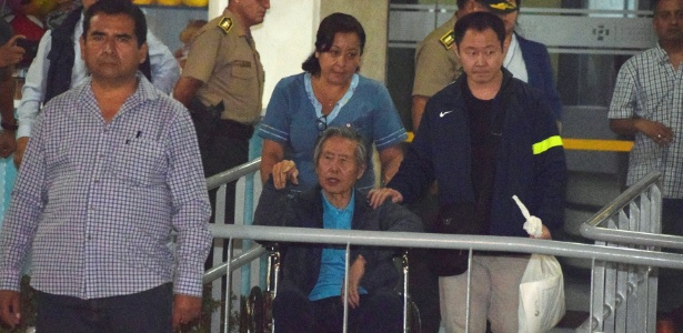 Fujimori deixou clínica em Lima no começo do mês