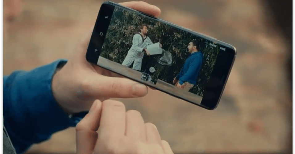 Tanto o S9 quanto o S9 Plus oferecem um divertido recurso de gravação em câmera lenta.