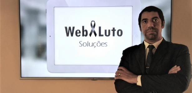 Siderlei Gonçalves criou a WebLuto, plataforma de e-commerce que vende serviços funerários