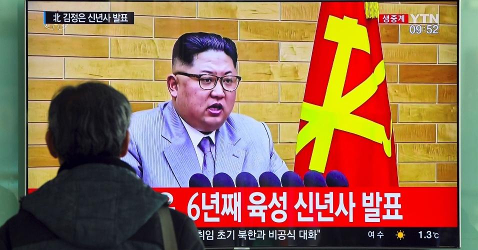 Na virada do ano de 2017 para 2018, Kim Jong-un surpreendeu em um discurso em que se mostrava aberto ao diálogo com a Coreia do Sul