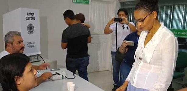 Marina Silva confirma seu voto em Fernando Haddad