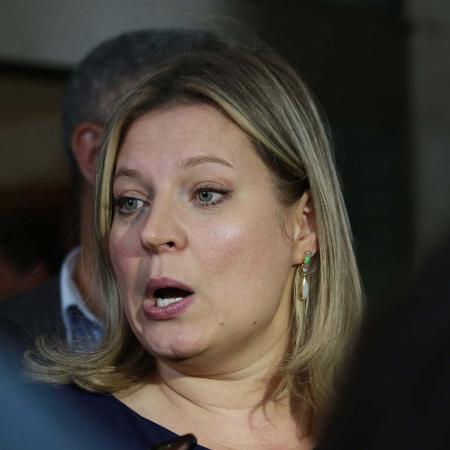 A deputada Joice Hasselmann (PSL-SP) saiu em defesa do ministro Paulo Guedes - Fátima Meira/FuturaPress/Estadão Conteúdo