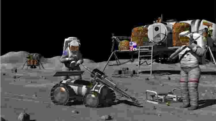 Compreender os possíveis riscos da radiação é vital para as futuras explorações do homem na Lua  - Science Photo Library - Science Photo Library