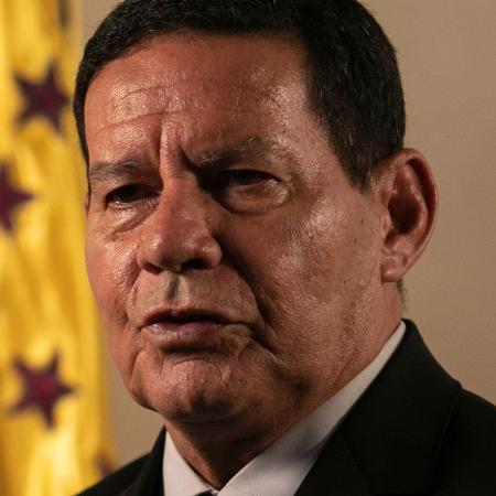 O vice-presidente da República, general da reserva Hamilton Mourão - Sérgio Lima/AFP