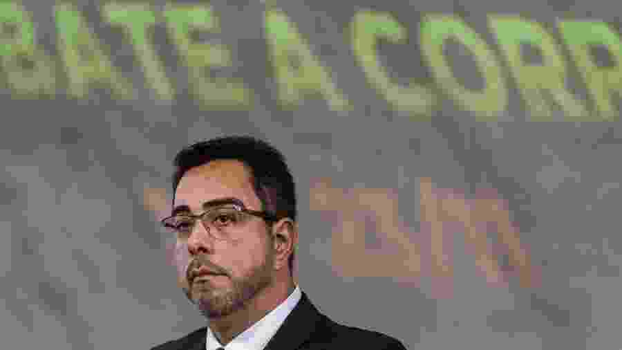 23.nov.2018 - O juiz federal Marcelo Bretas participa de simpósio nacional de combate a corrupção, na FGV, no Rio - Ricardo Borges/Folhapress