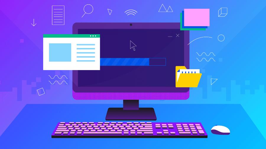 Computadores podem durar um bocado se bem cuidados pelo usuário - Estúdio Rebimboca/UOL