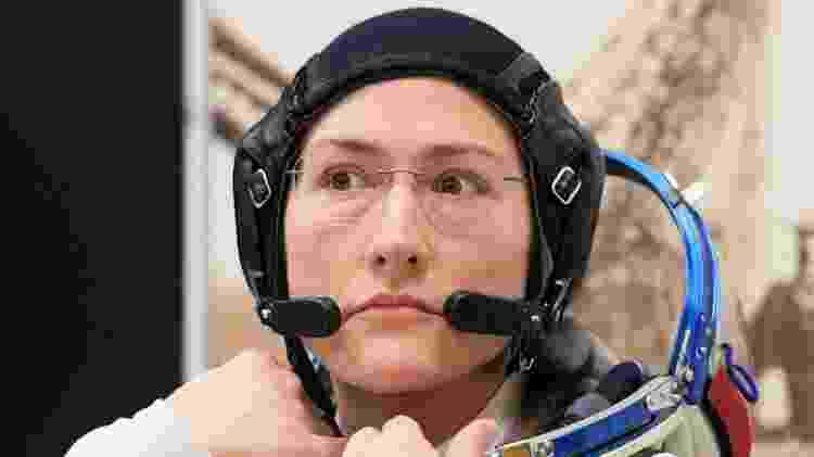 A astronauta Christina Koch - Kirill Kudryavtsev/AFP