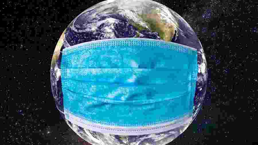 Puxado por EUA, Brasil e Índia, mundo contabilizou 227 mil novos casos de covid-19 - Anton Petrus/Getty Images