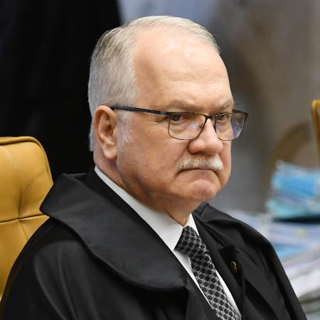 28.nov.2019 - O ministro Edson Fachin durante sessão extraordinária do STF (Supremo Tribunal Federal) - Carlos Moura/SCO/STF