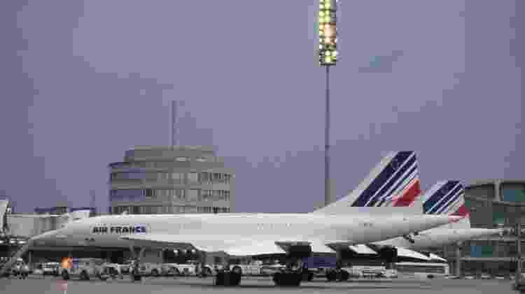 Apenas a Air France e a British Airways voaram com o Concorde - Divulgação - Divulgação