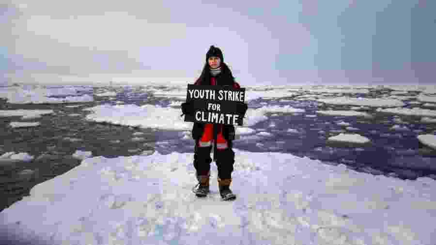 Mya-Rose tem 18 anos e briga por políticas públicas para deter as mudanças climáticas - Divulgação/Greenpeace UK