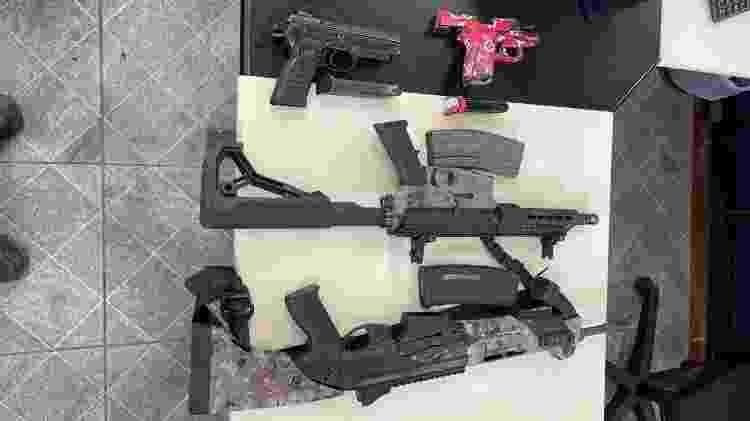 Armas - Divulgação/PMERJ - Divulgação/PMERJ