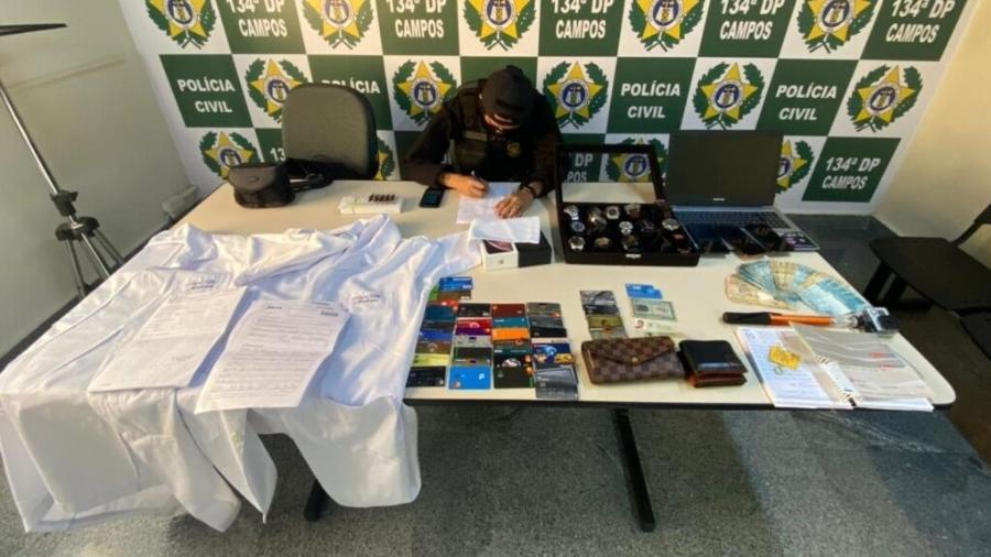 Casal é preso suspeito de cobrar até 150 mil reais por vaga em faculdade de medicina - PCGO/divugação