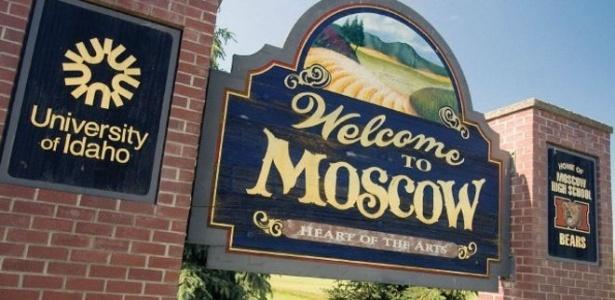 Mais de 20 cidades norte-americanas têm o nome de Moscou - Divulgação/Cidade de Moscou/BBC