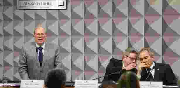 O jurista Miguel Reale Jr., um dos autores do pedido de impeachment de Dilma - Alan Marques/Folhapress