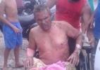 Cobrador, cadeirante, e motorista ficam feridos em ataques a ônibus em Fortaleza - Reprodução/via WhatsApp