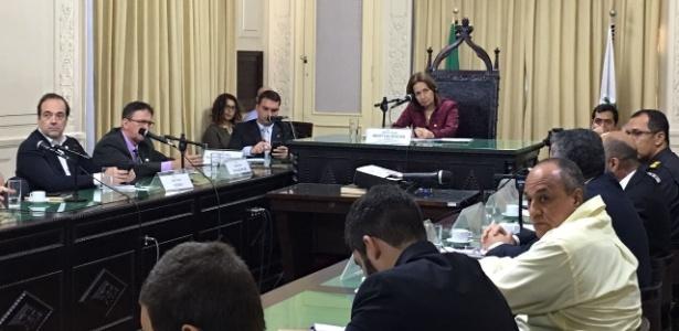 O comandante da UPP foi ouvido durante uma audiência pública da Comissão de Segurança Pública da Alerj