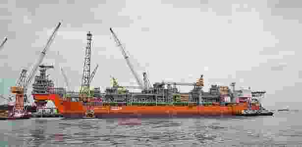 Navio Pioneiro de Libra: campo obteve em leilão o equivalente às seis áreas arrematadas na última sexta-feira (27) - Felipe Kateb/Divulgação/Petrobras
